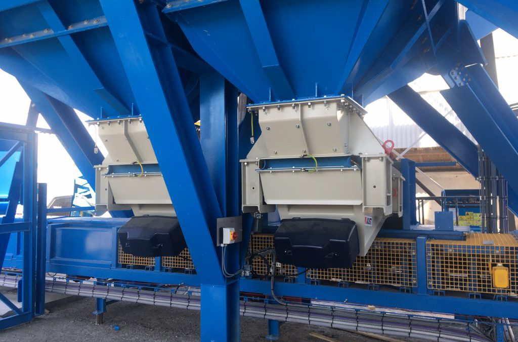 New storage and transhipment facility for sand-lime brick at Verbrugge