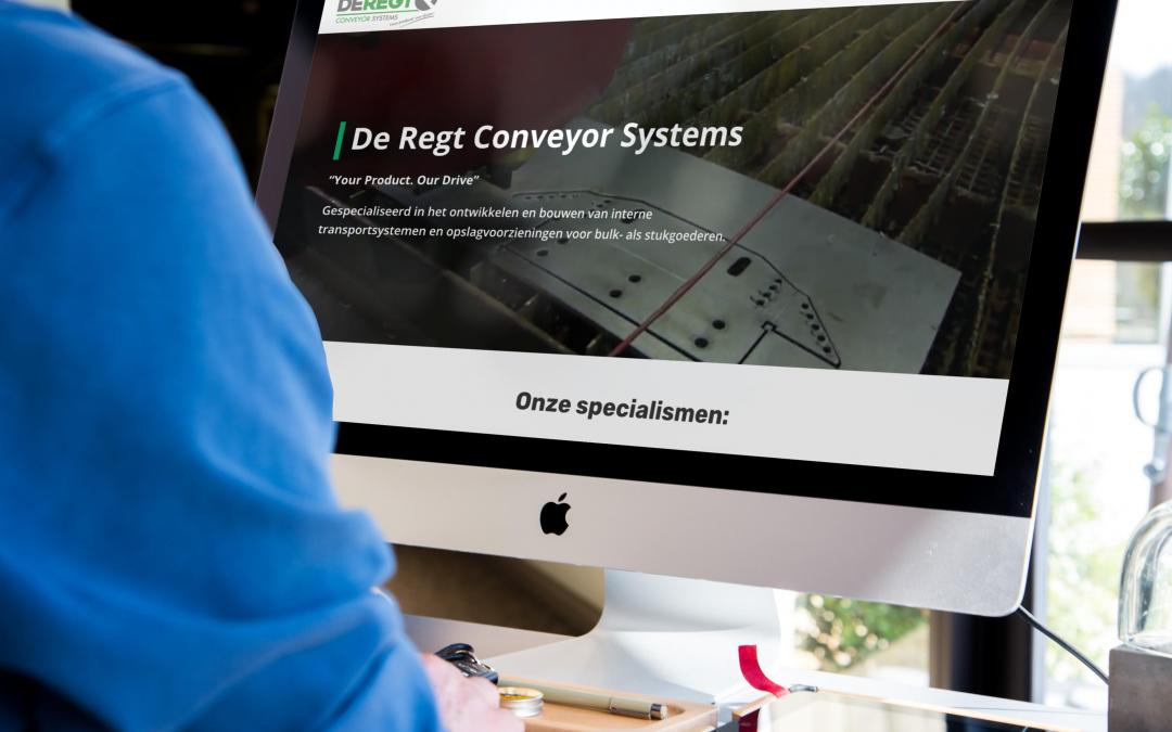 De Regt Conveyor Systems launches new website