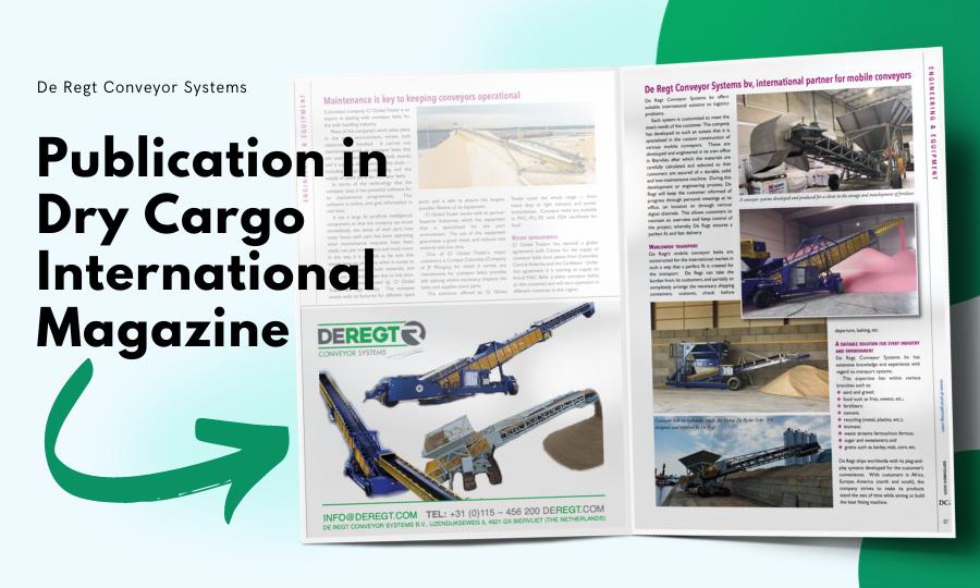 Publication in Dry Cargo International magazine (september 2020)